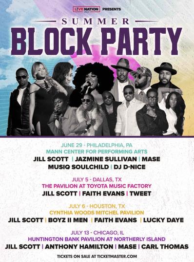 Jill Scott R&B Block Party Festival