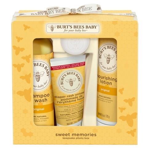 Burt's Bees Memories Box luxury baby gifts