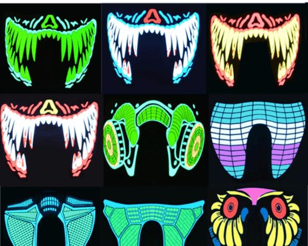 Cute Pets Led Masks 1
