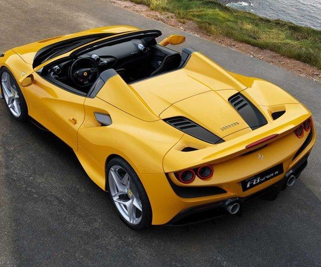 Ferrari F8 Tributo Rear: Introducing The Ferrari F8 Spider, A Lighter, More