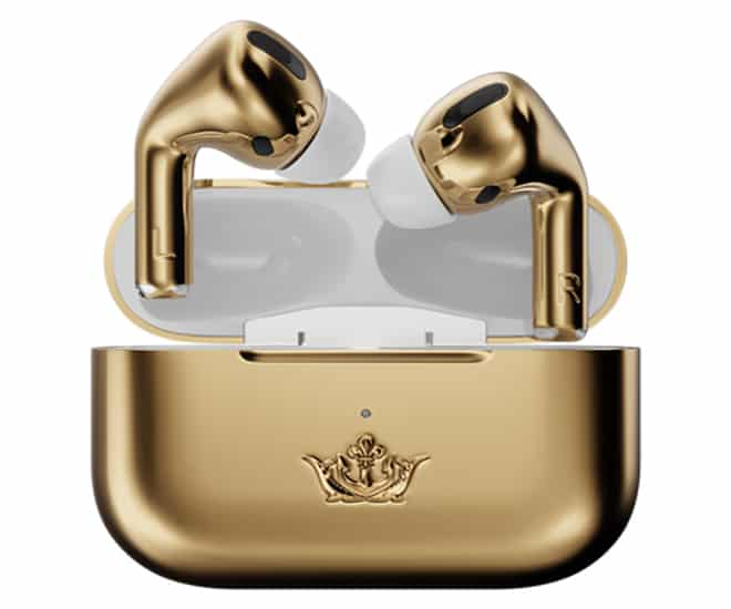 Caviar Launches 18-karat Gold Apple AirPods Pro