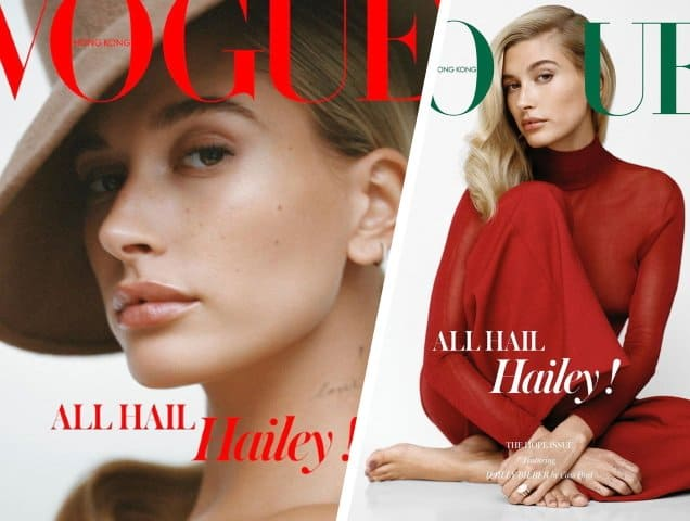 foto de Hailey Bieber Looks 'Poised and Elegant' on Vogue Hong Kong's ...