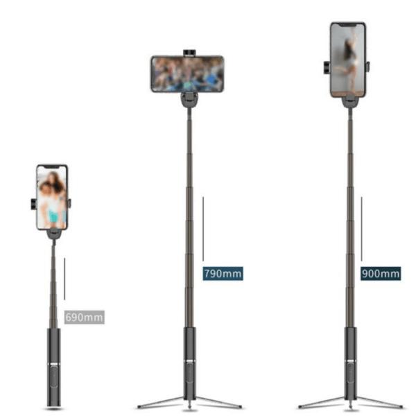 3 in 1 Wireless Bluetooth Selfie Stick 3