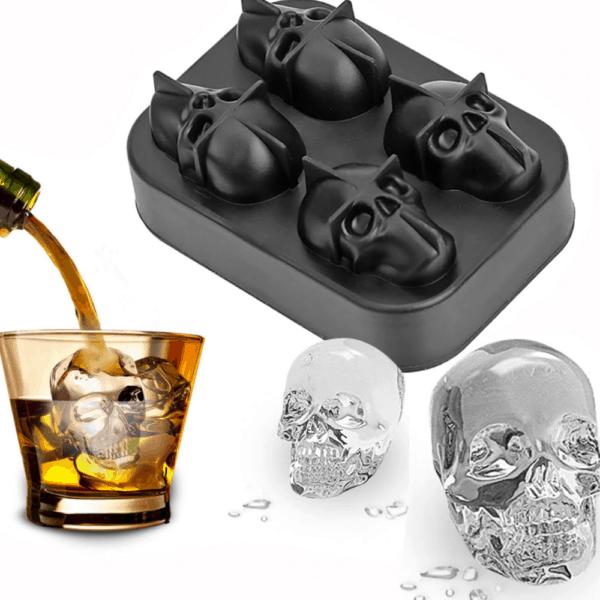 Ice Cube Skull Maker  1
