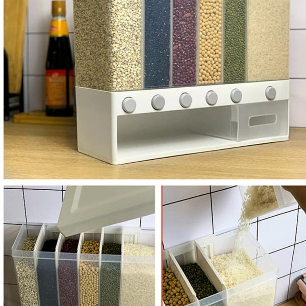 Wall-mounted dry food dispenser 3
