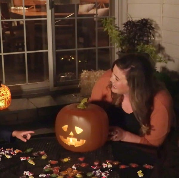 Halloween Talking Animated LED Pumpkin 5