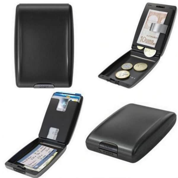 RFID Secure Cash and Cards Wallet 5