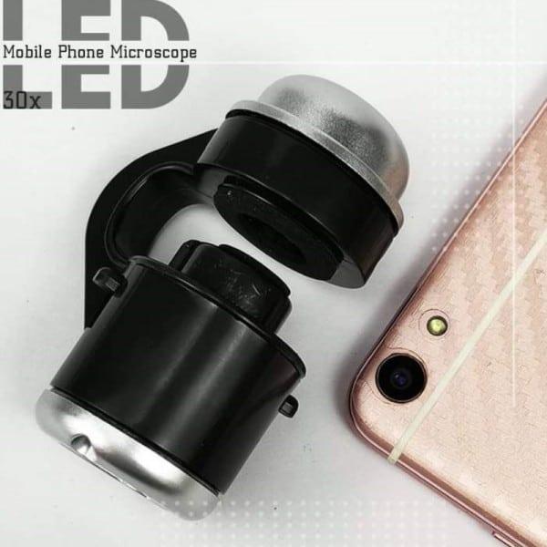 LED Mobile Phone Microscope 2
