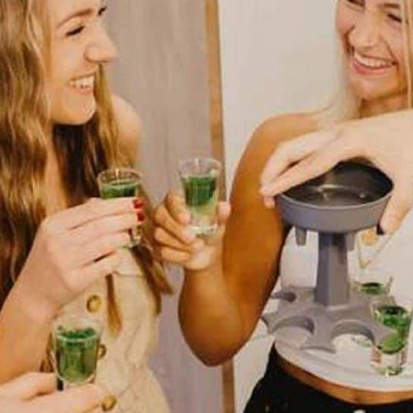 6 Shot Glass Dispenser 4