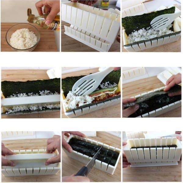 DIY Sushi Maker  3